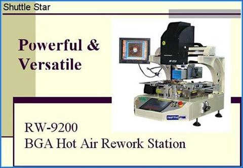 BGA Rework System RW-9200